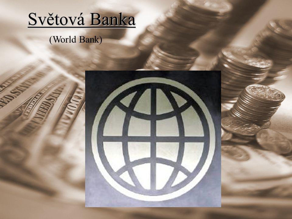 Světová Banka (World Bank)