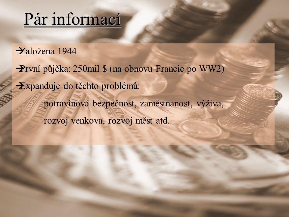 Pár informací Založena 1944