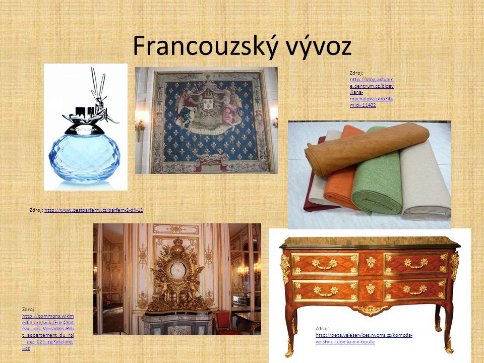 Francouzský vývoz Zdroj: http://blog.aktualne.centrum.cz/blogy/jana-machalova.php itemid=11432. Zdroj: http://www.bestparfemy.cz/parfem-2-dil-11.