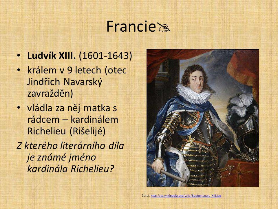 Francie Ludvík XIII. (1601-1643)