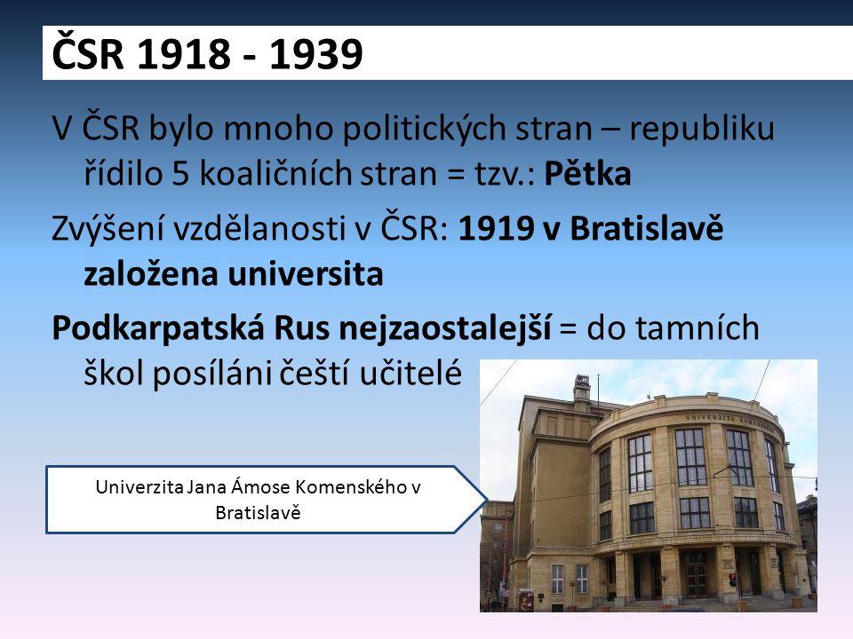 Univerzita Jana Ámose Komenského v Bratislavě