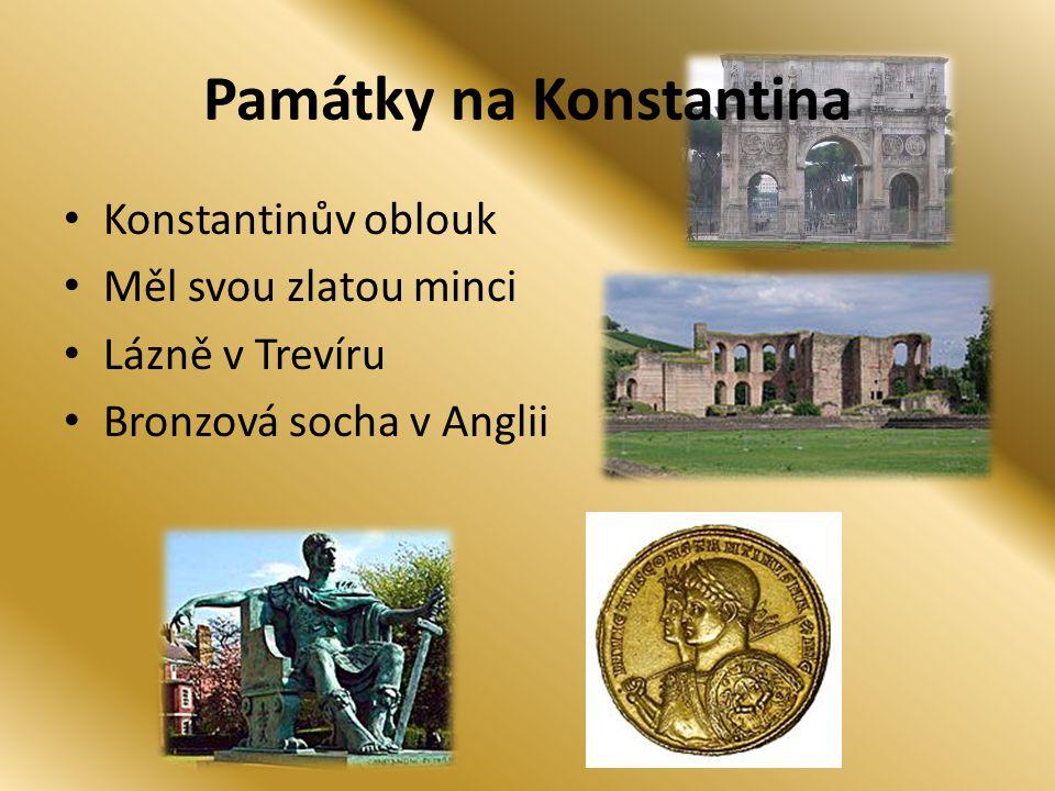 Památky na Konstantina