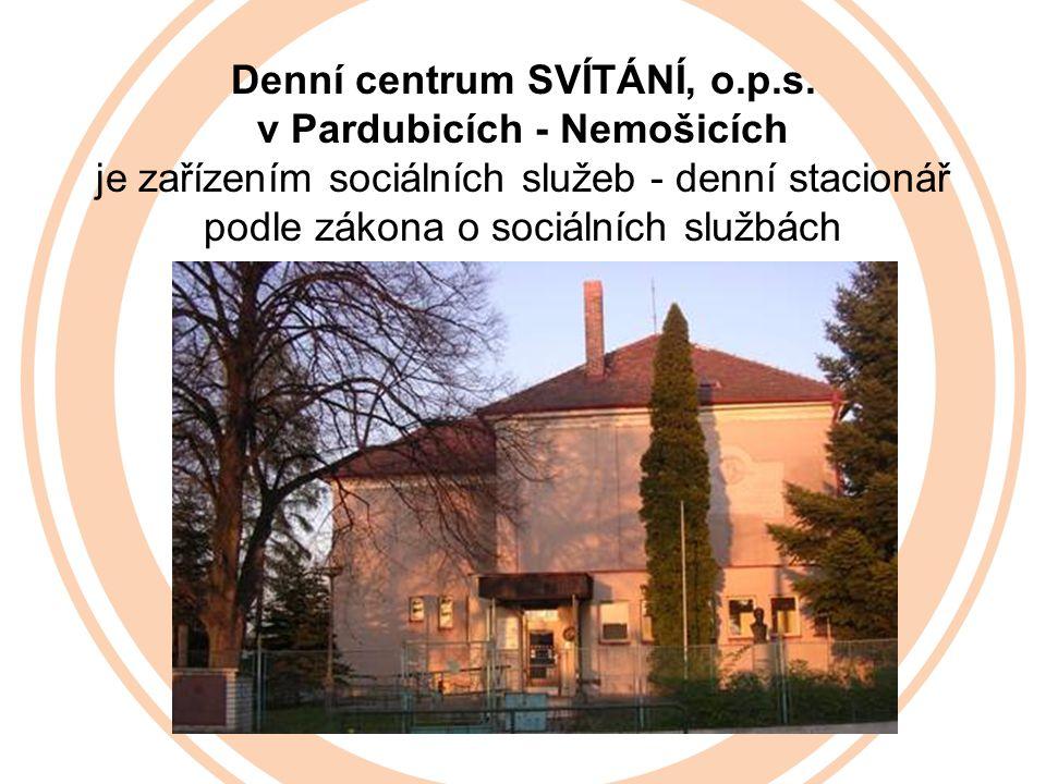 Denní centrum SVÍTÁNÍ, o.p.s.
