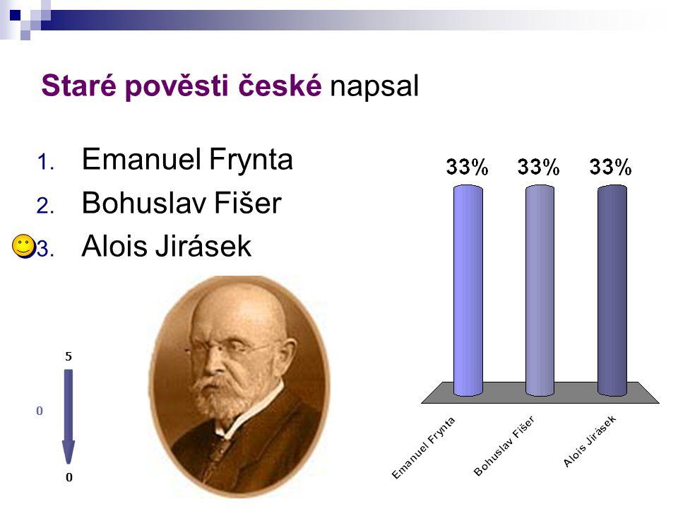 Staré pověsti české napsal