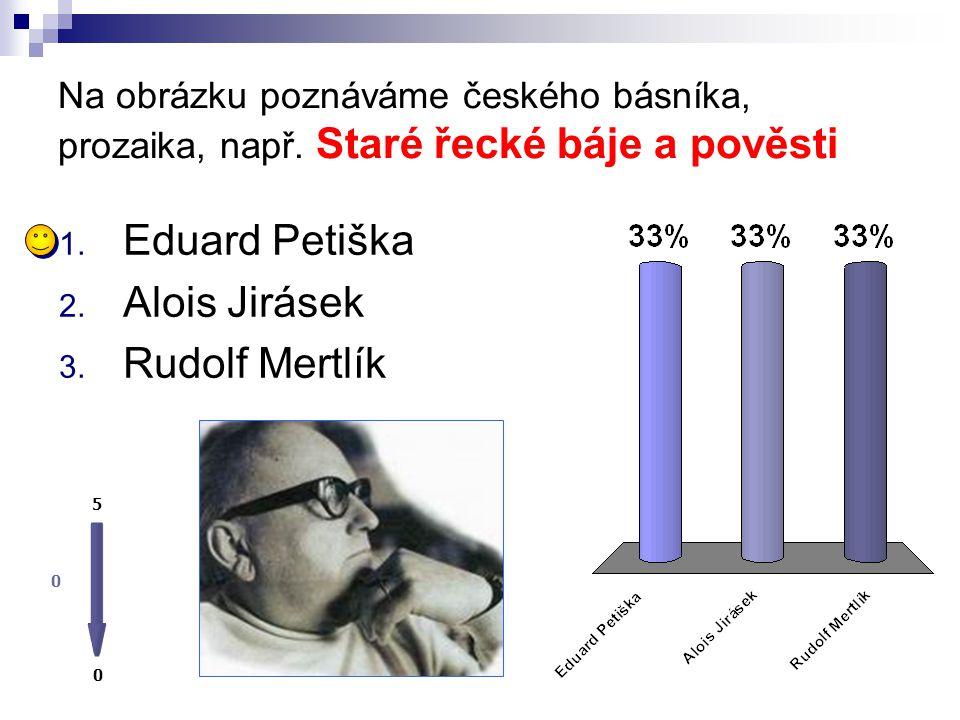 Eduard Petiška Alois Jirásek Rudolf Mertlík