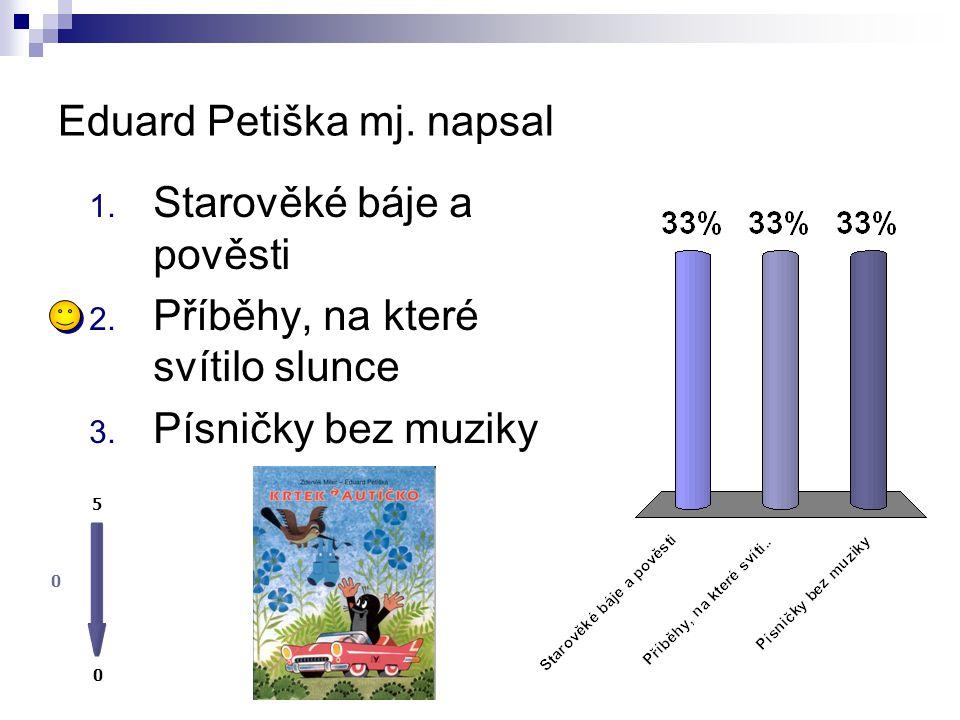 Eduard Petiška mj. napsal