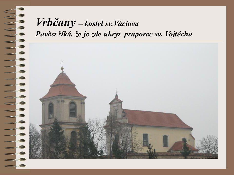 Vrbčany – kostel sv.Václava