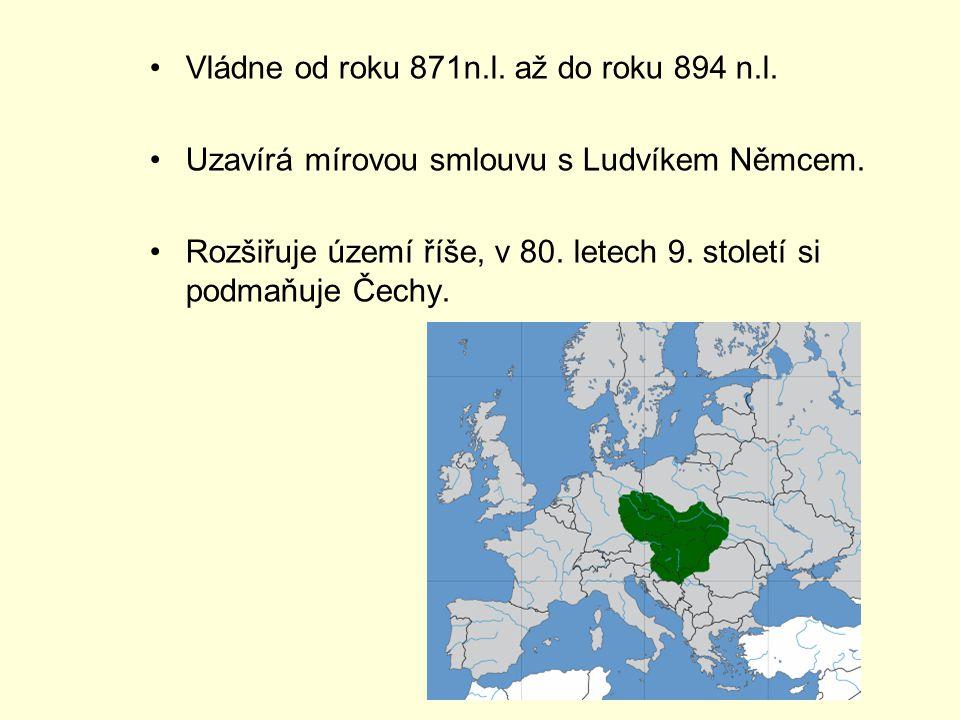 Vládne od roku 871n.l. až do roku 894 n.l.