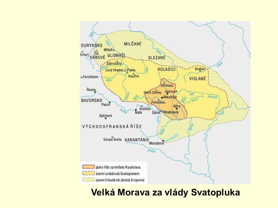 Velká Morava za vlády Svatopluka