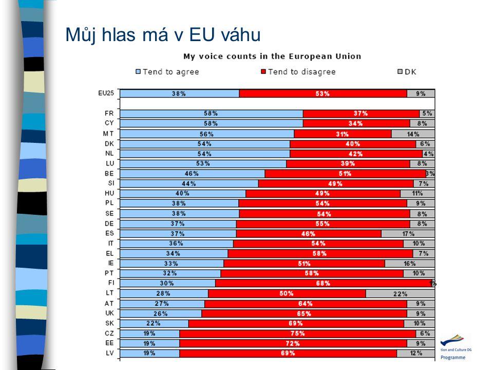 Můj hlas má v EU váhu