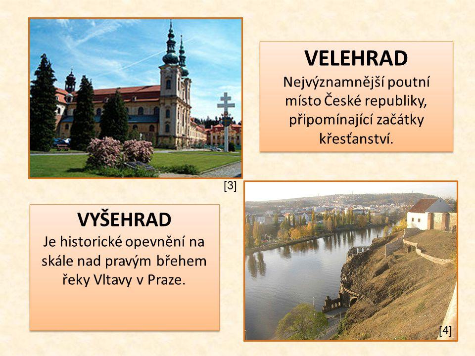 Je historické opevnění na skále nad pravým břehem řeky Vltavy v Praze.