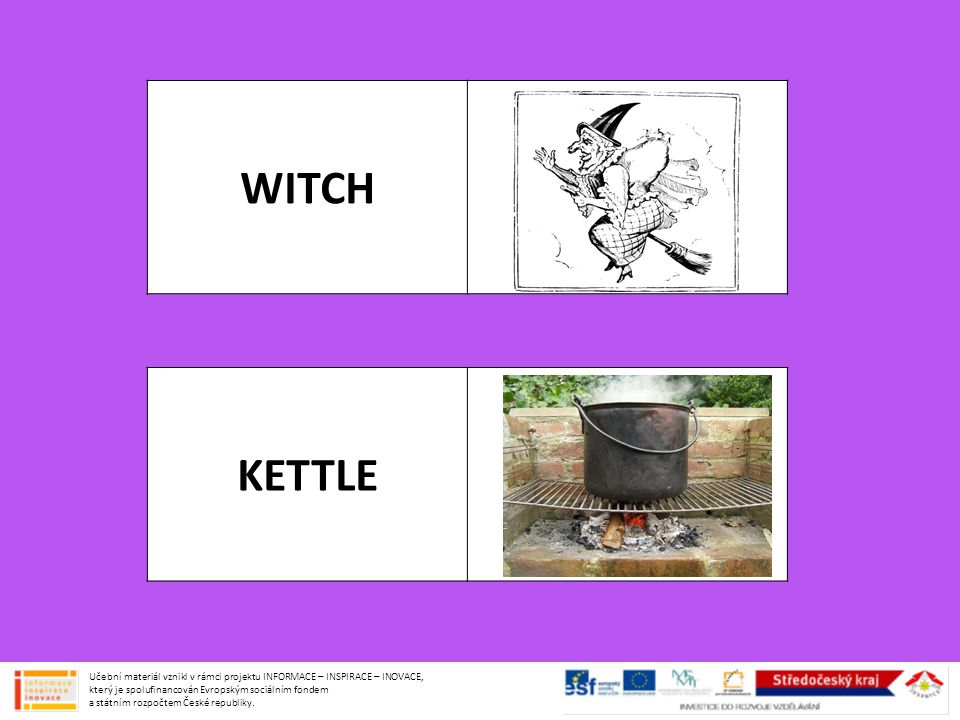 WITCH KETTLE.