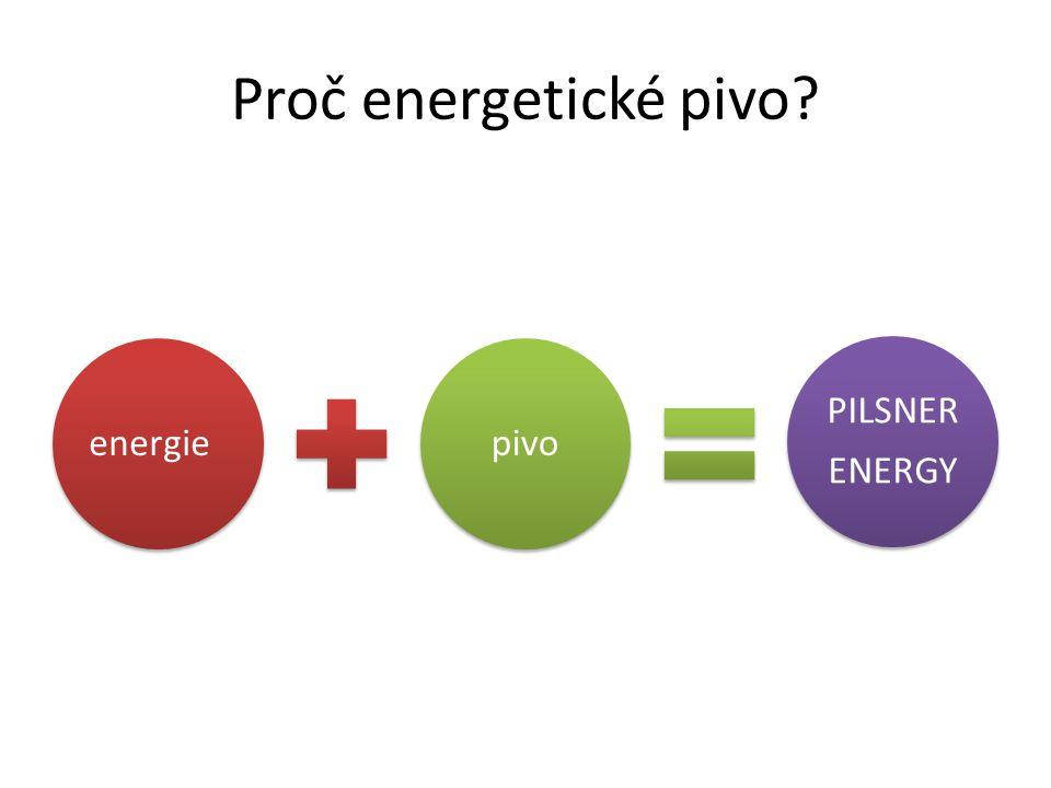 Proč energetické pivo energie pivo PILSNER ENERGY