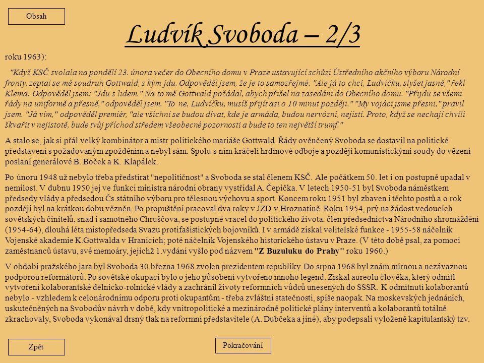 Ludvík Svoboda – 2/3 roku 1963):