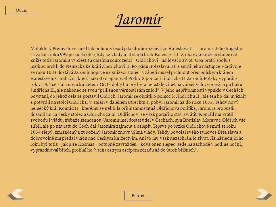 Obsah Jaromír.