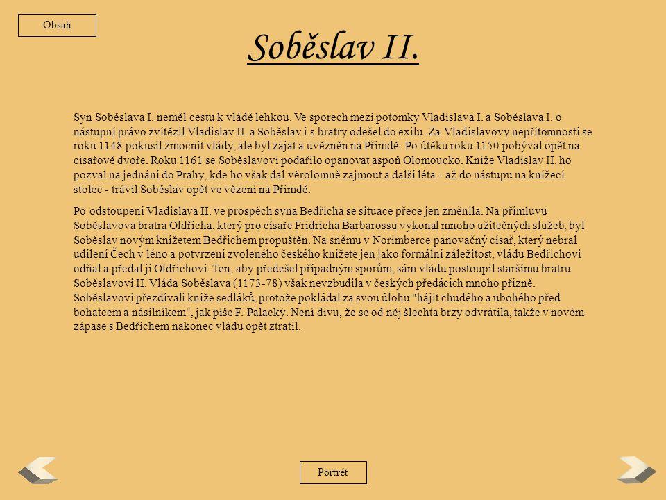 Obsah Soběslav II.