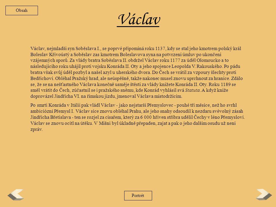 Obsah Václav.