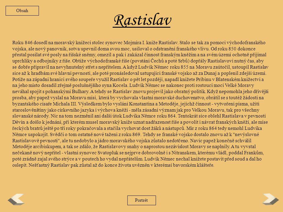 Obsah Rastislav.