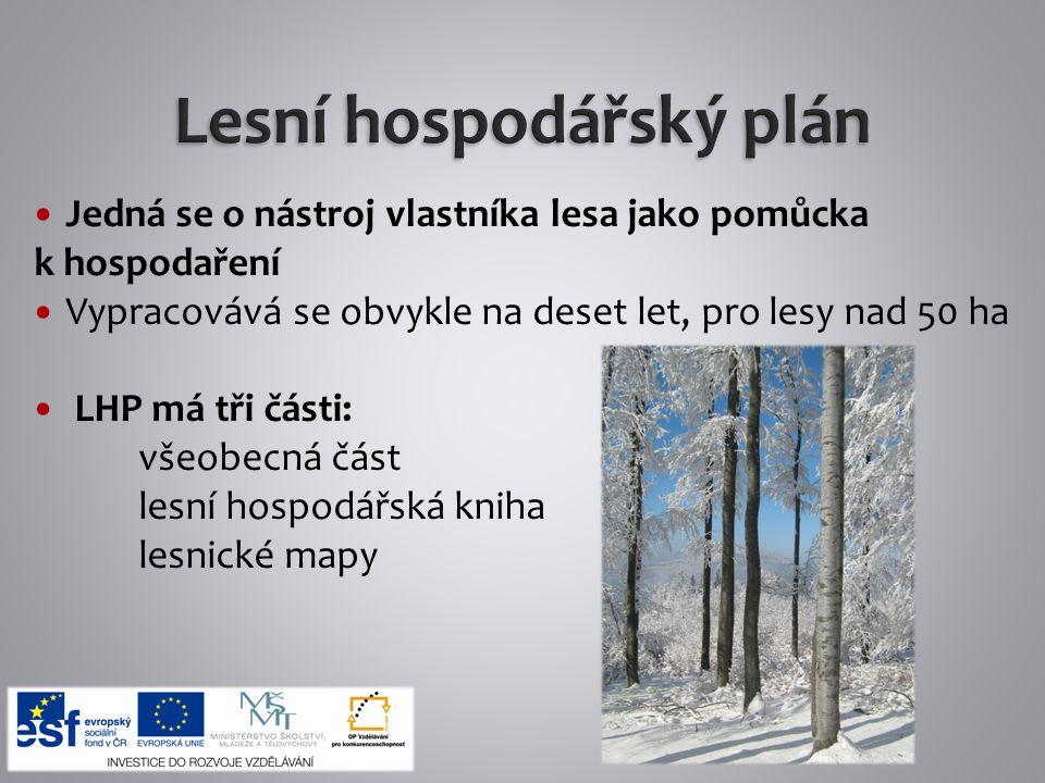 Lesní hospodářský plán