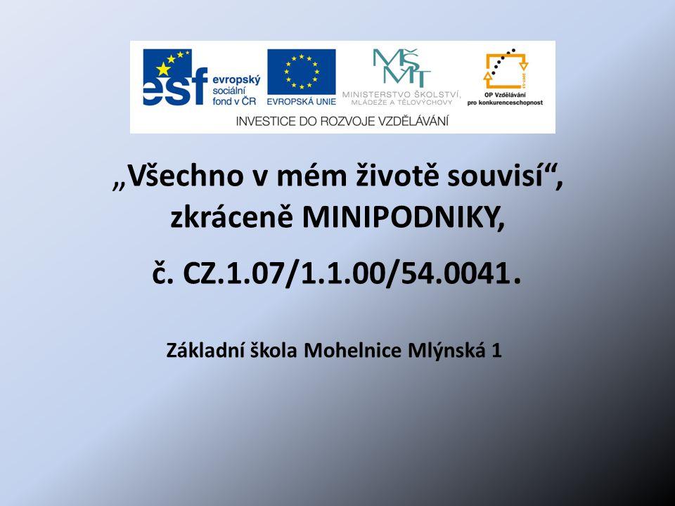 Základní škola Mohelnice Mlýnská 1