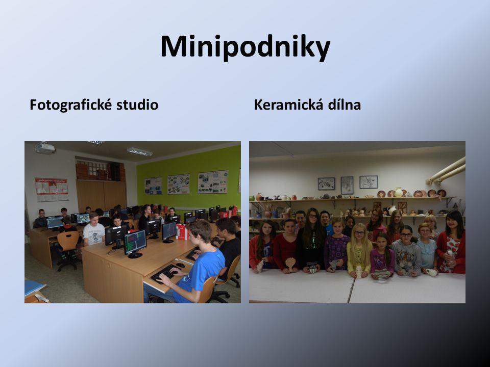 Minipodniky Fotografické studio Keramická dílna