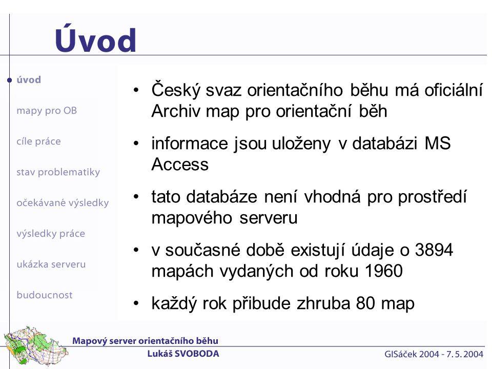 Český svaz orientačního běhu má oficiální Archiv map pro orientační běh