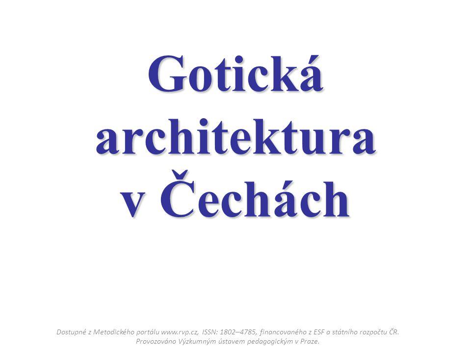 Gotická architektura v Čechách