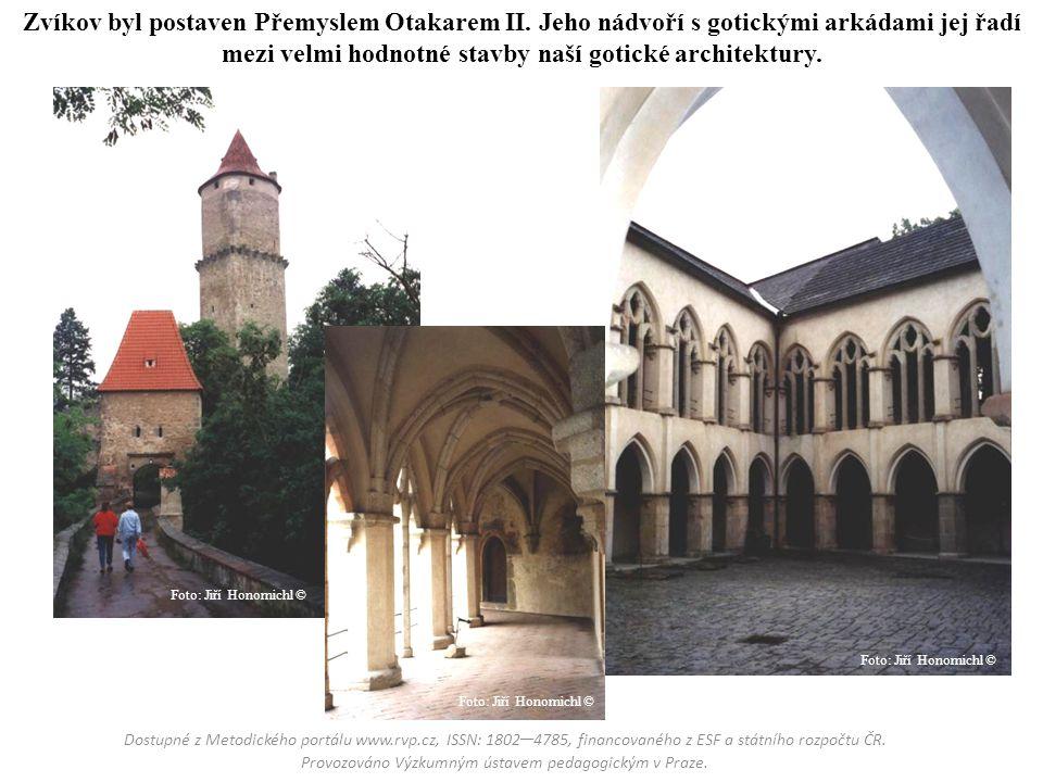 Zvíkov byl postaven Přemyslem Otakarem II