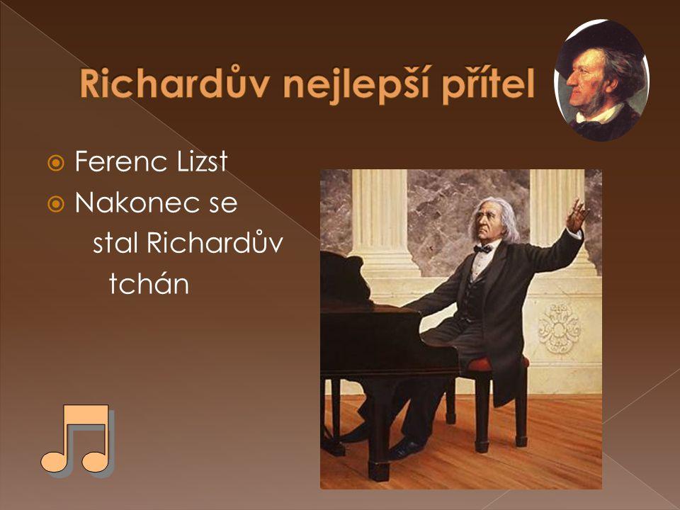 Richardův nejlepší přítel