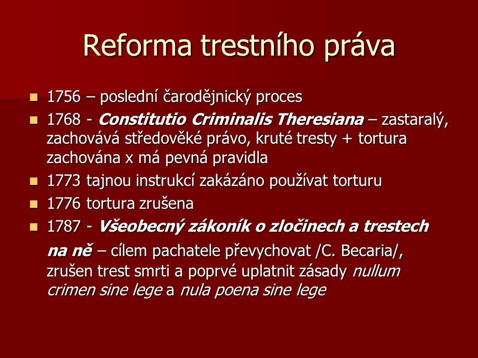 Reforma trestního práva