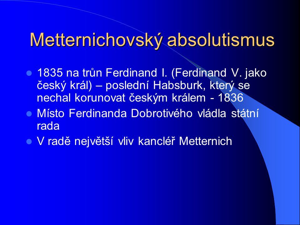 Metternichovský absolutismus
