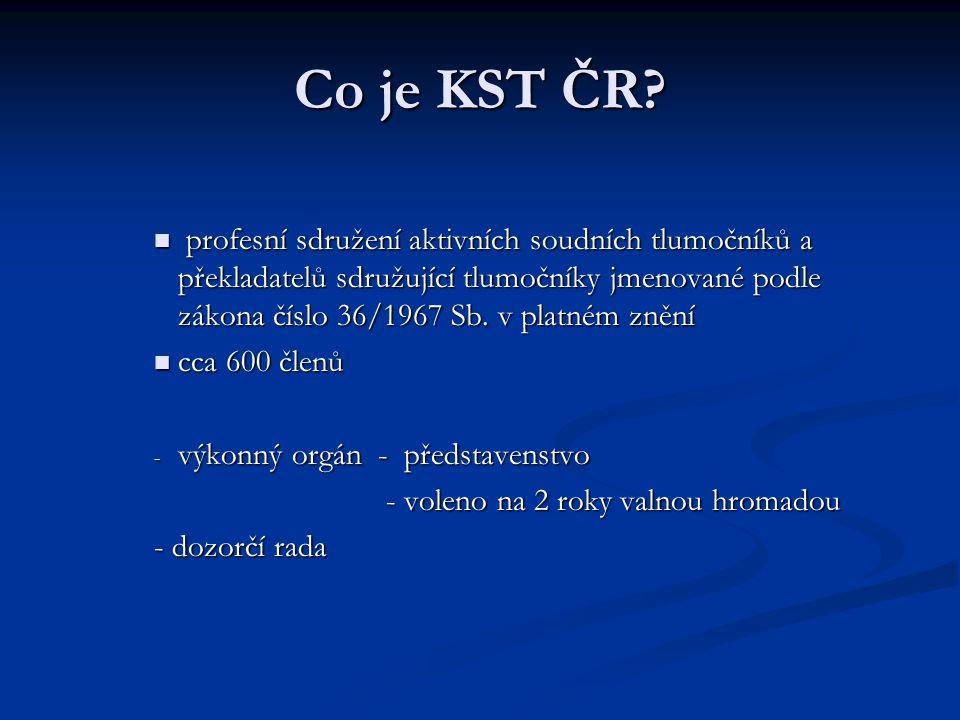 Co je KST ČR