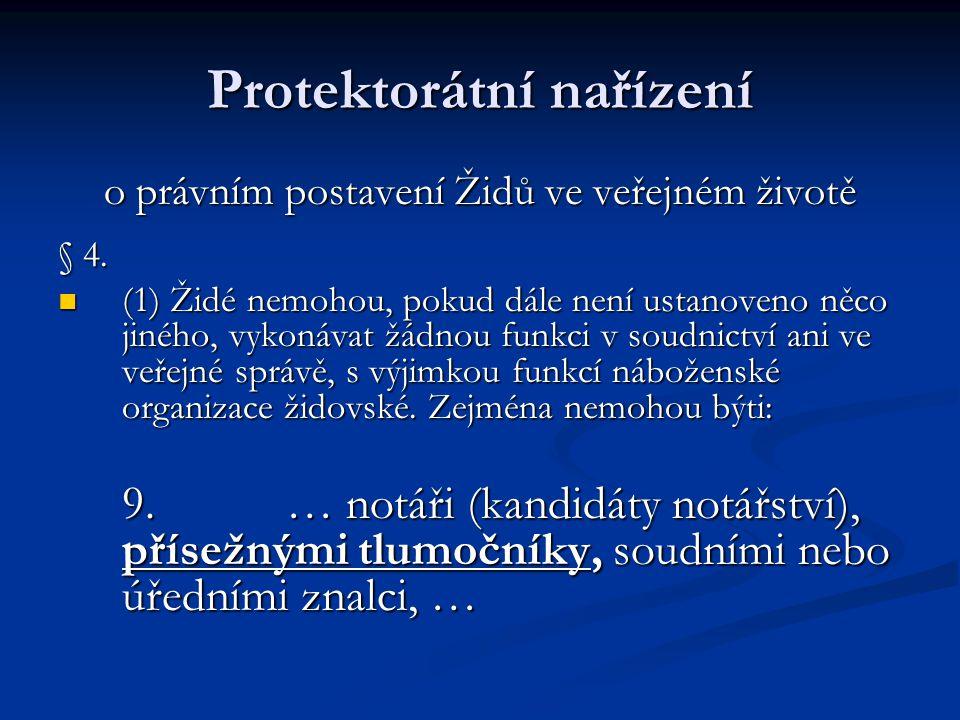 Protektorátní nařízení