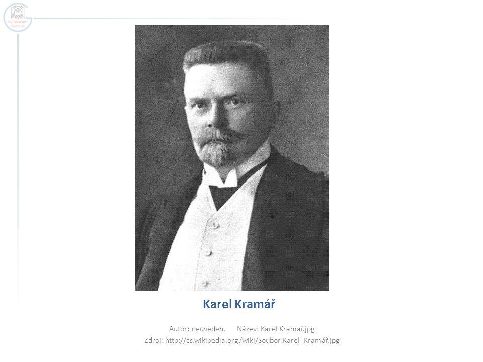 Karel Kramář Autor: neuveden, Název: Karel Kramář.jpg