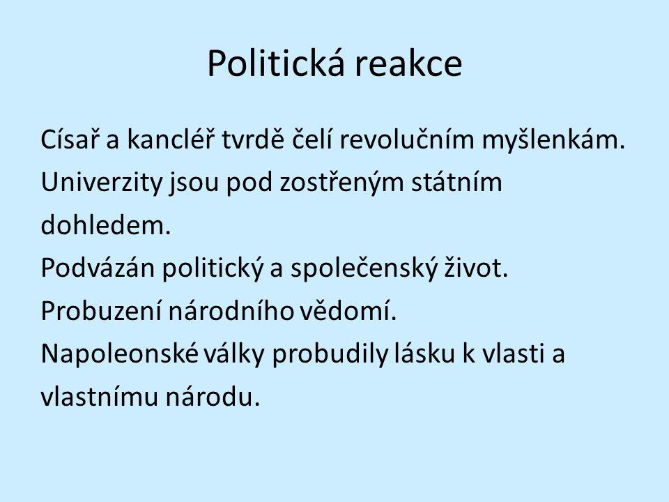 Politická reakce