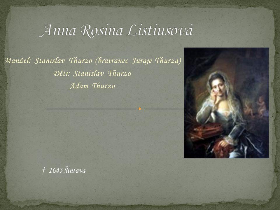 Anna Rosina Listiusová
