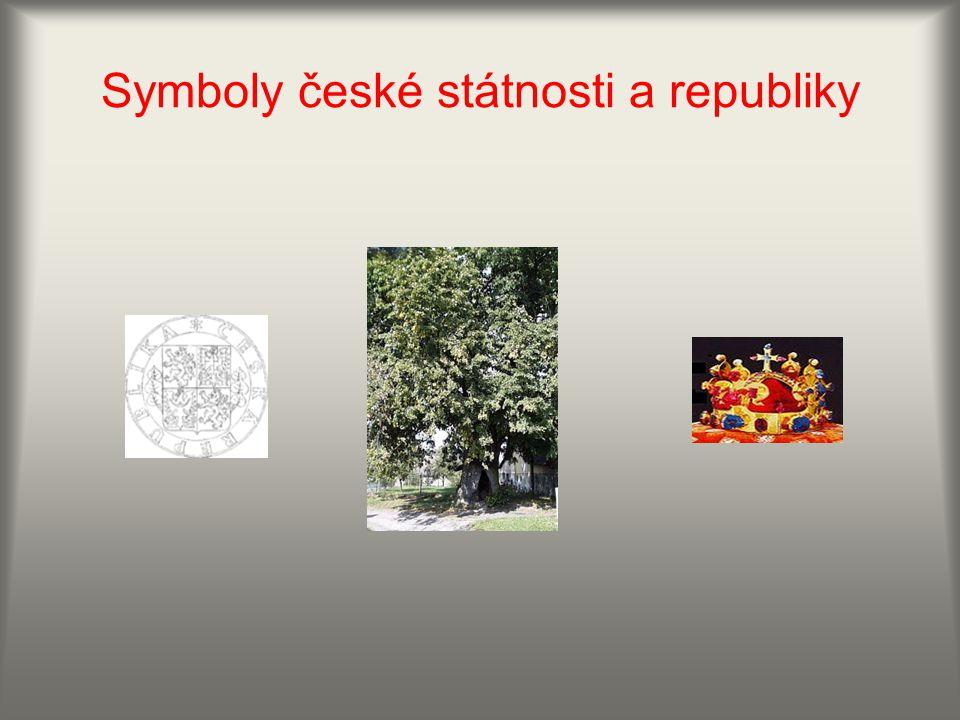 Symboly české státnosti a republiky