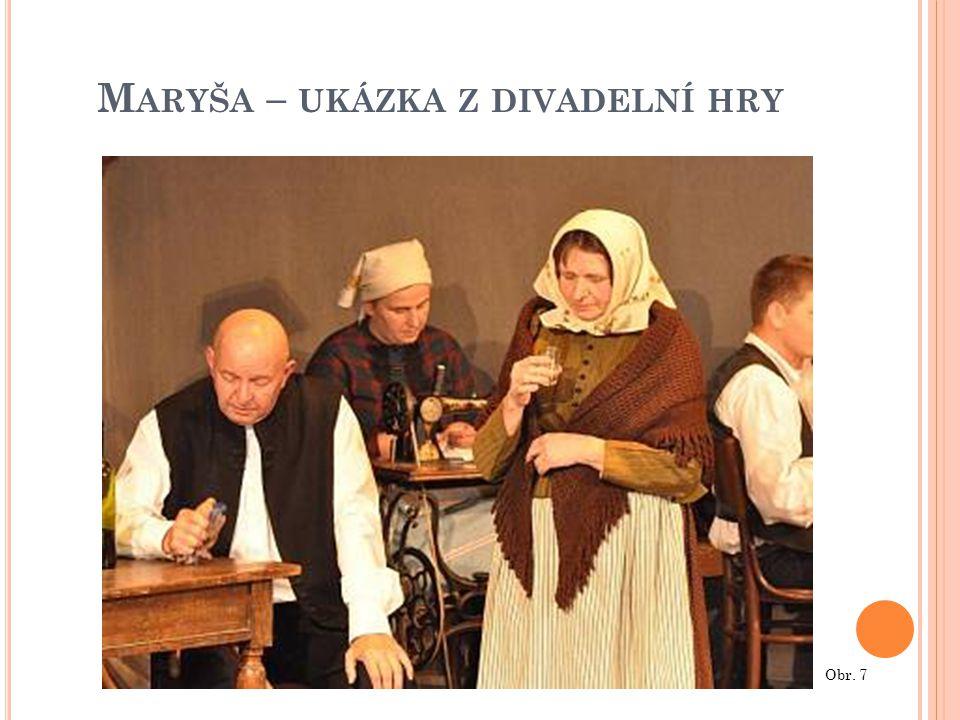 Maryša – ukázka z divadelní hry