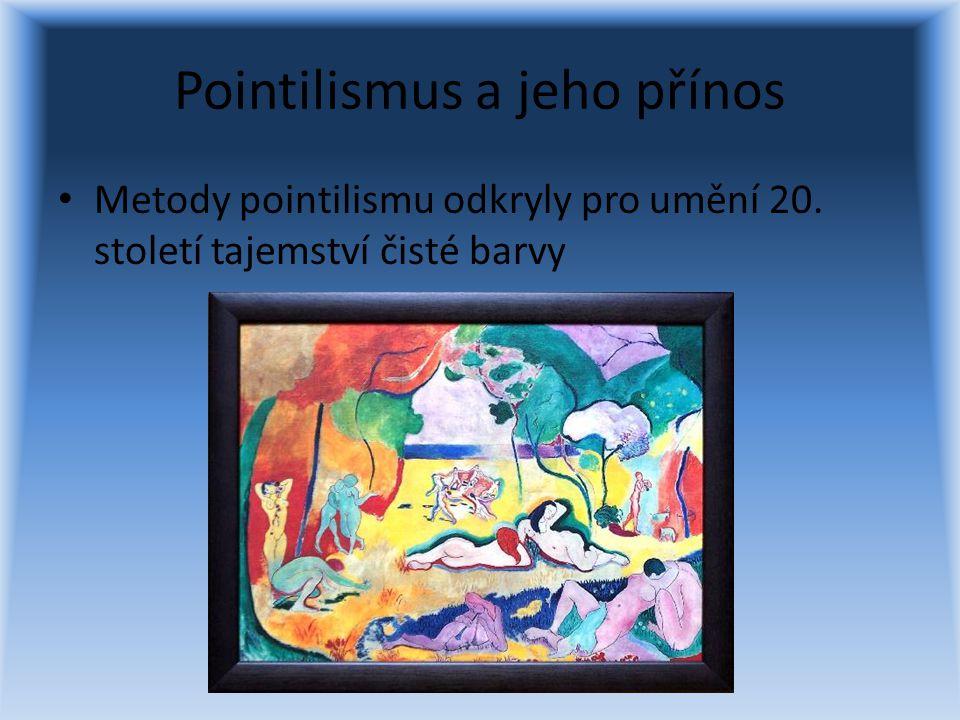 Pointilismus a jeho přínos
