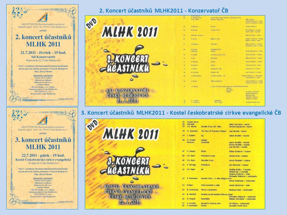 2. Koncert účastníků MLHK2011 - Konzervatoř ČB