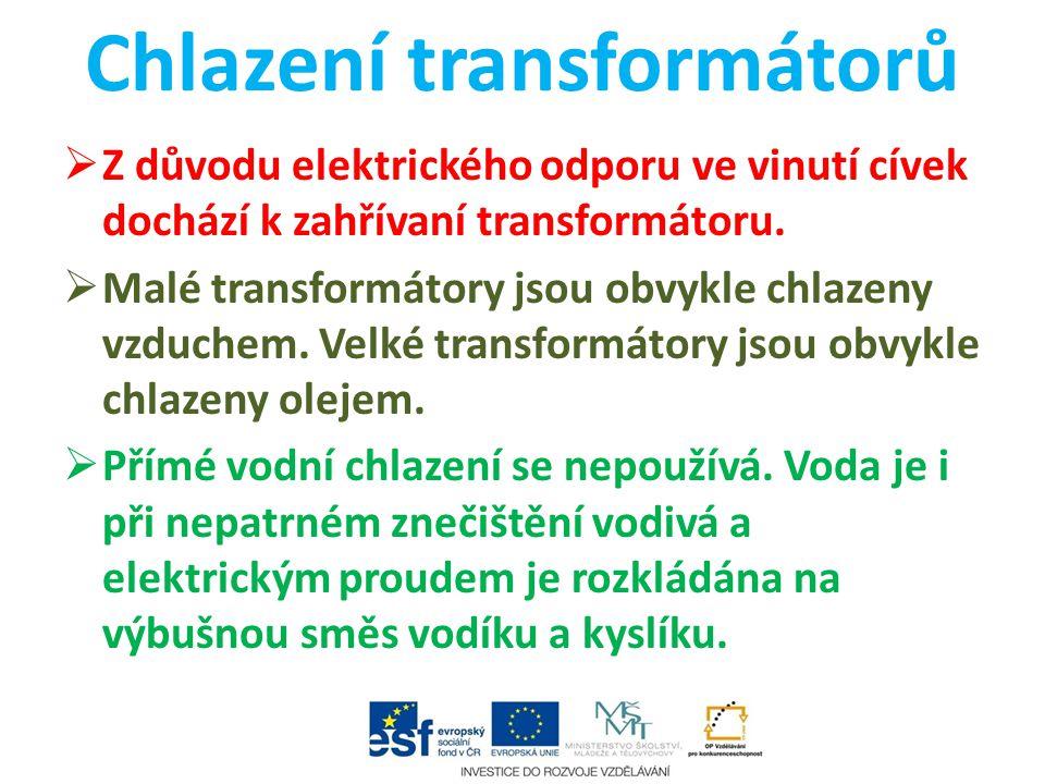 Chlazení transformátorů
