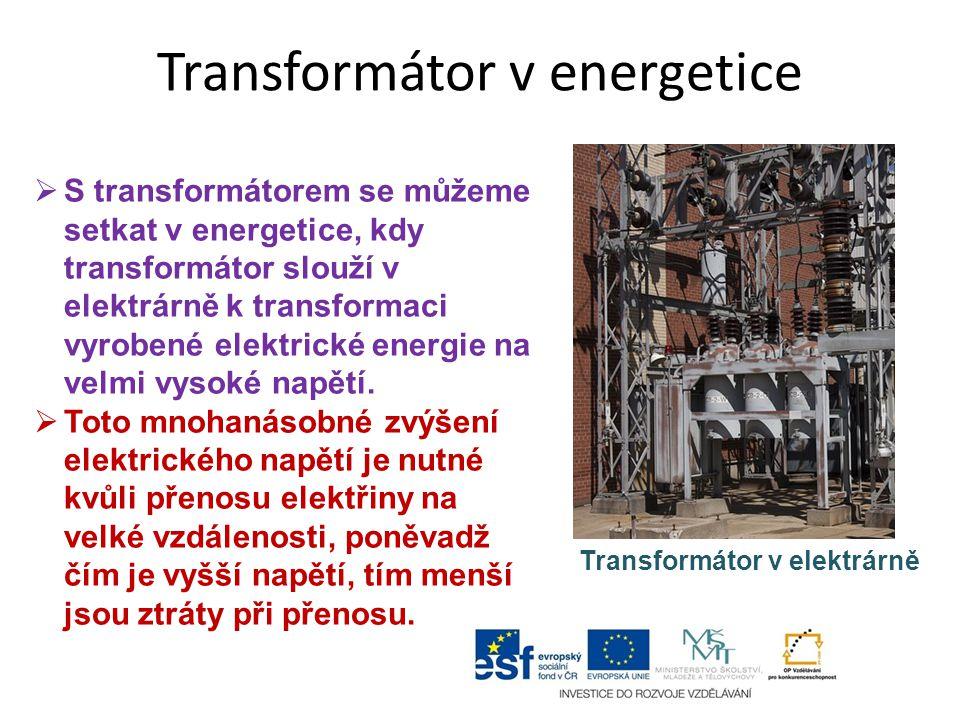 Transformátor v energetice