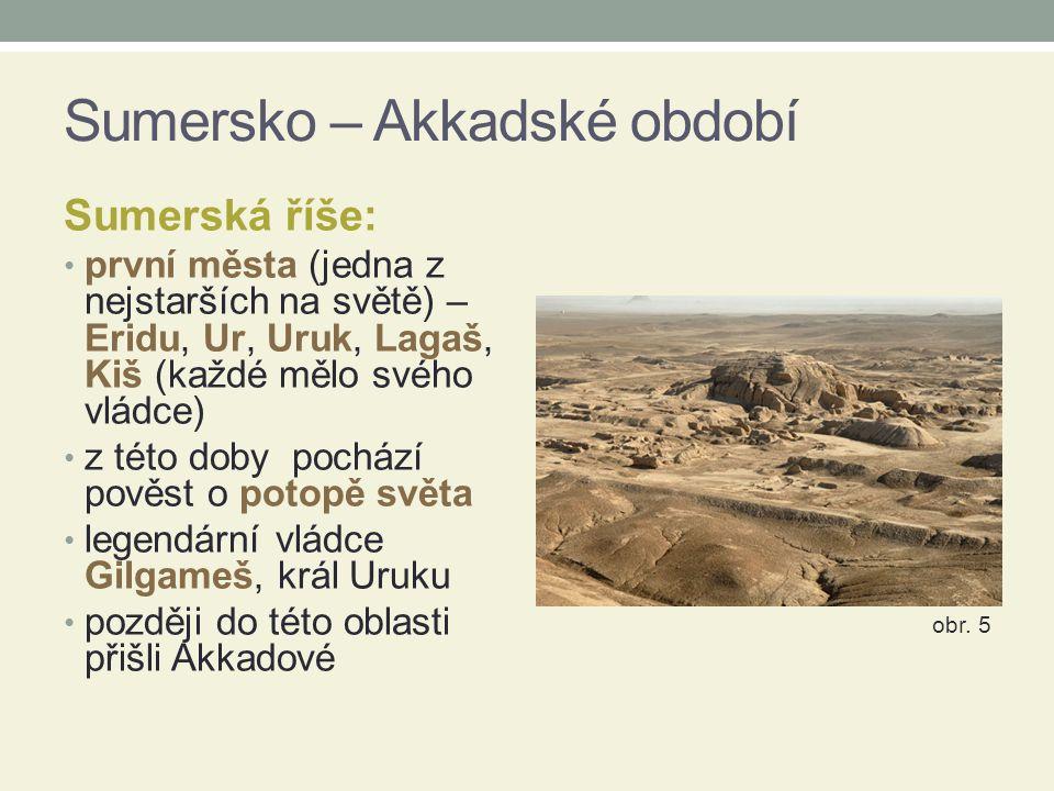 Sumersko – Akkadské období