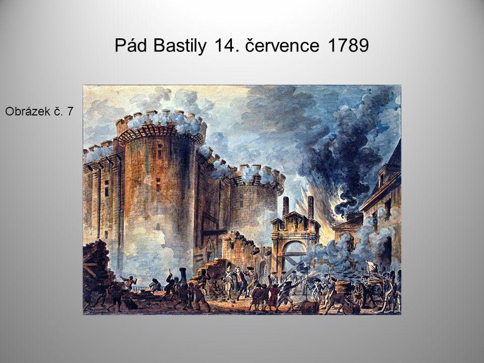 Pád Bastily 14. července 1789 Obrázek č. 7