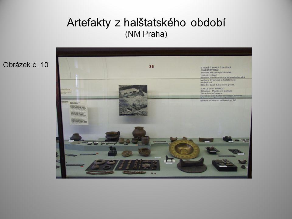 Artefakty z halštatského období (NM Praha)