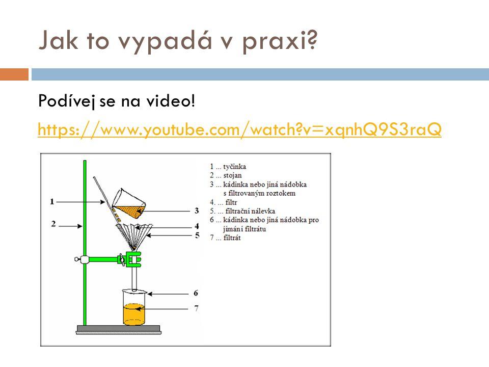Jak to vypadá v praxi Podívej se na video! https://www.youtube.com/watch v=xqnhQ9S3raQ