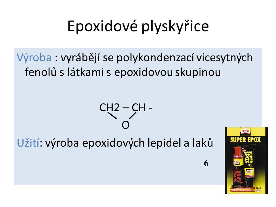 Epoxidové plyskyřice