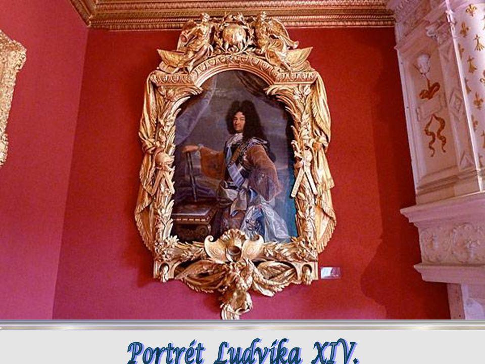 Portrét Ludvíka XIV.