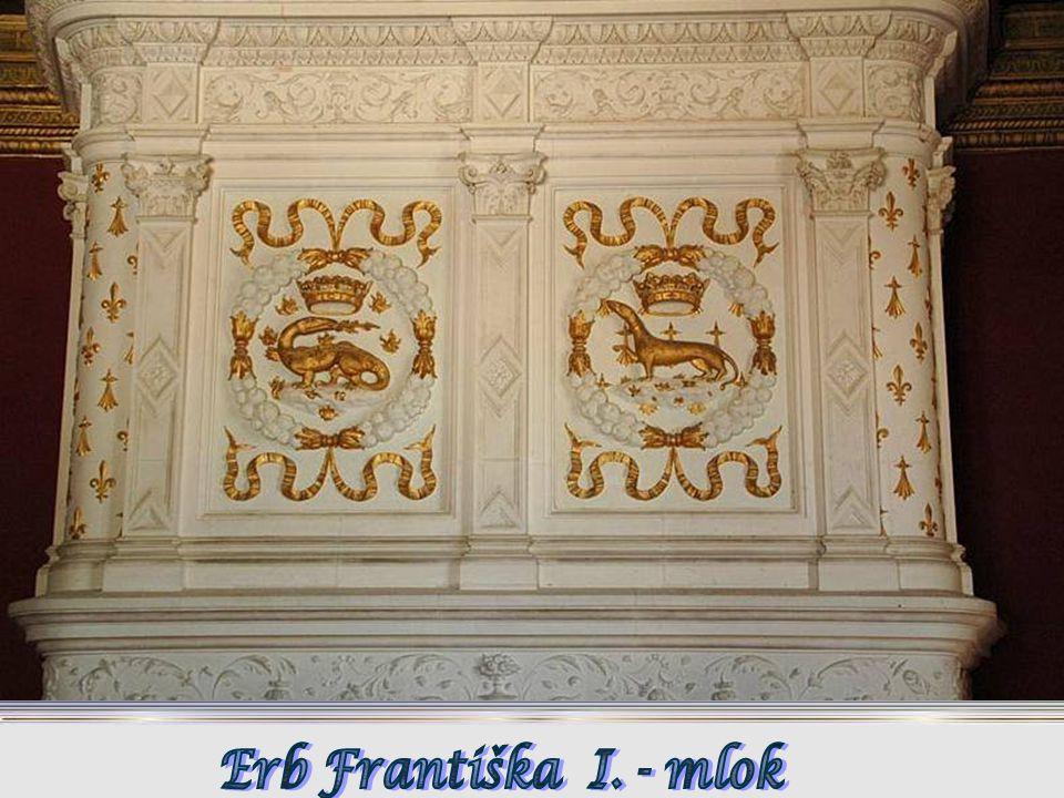 Erb Františka I. - mlok
