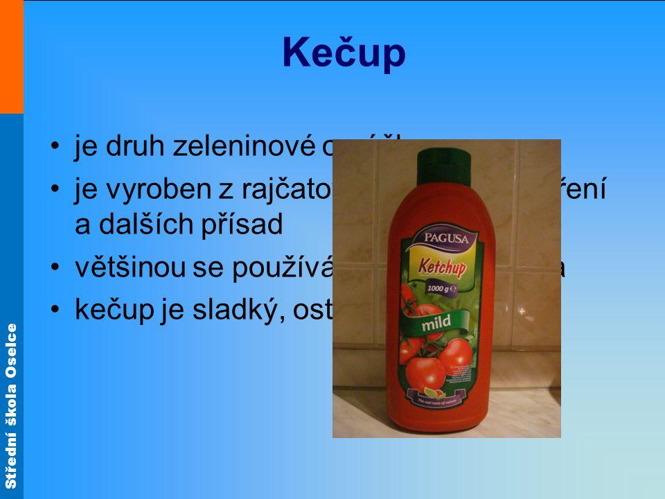 Kečup je druh zeleninové omáčky
